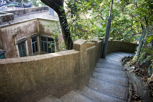 Ladder Streets and Unmarked Steps, a Photo Essay
