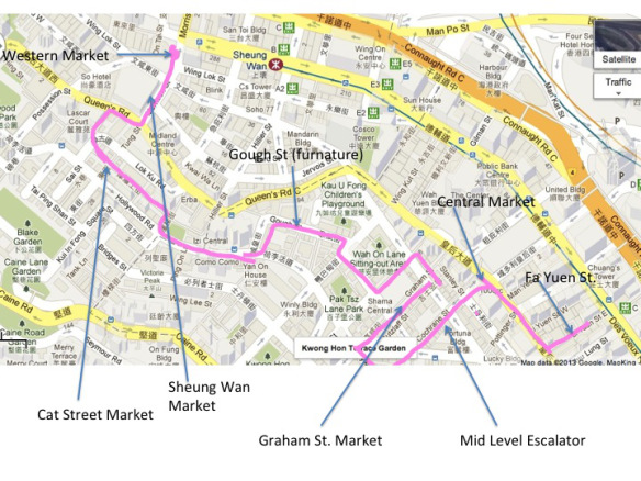 A walking (eating) tour, Central and Sheung Wan Markets