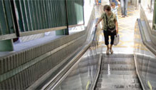 escalators? NO!…maybe?