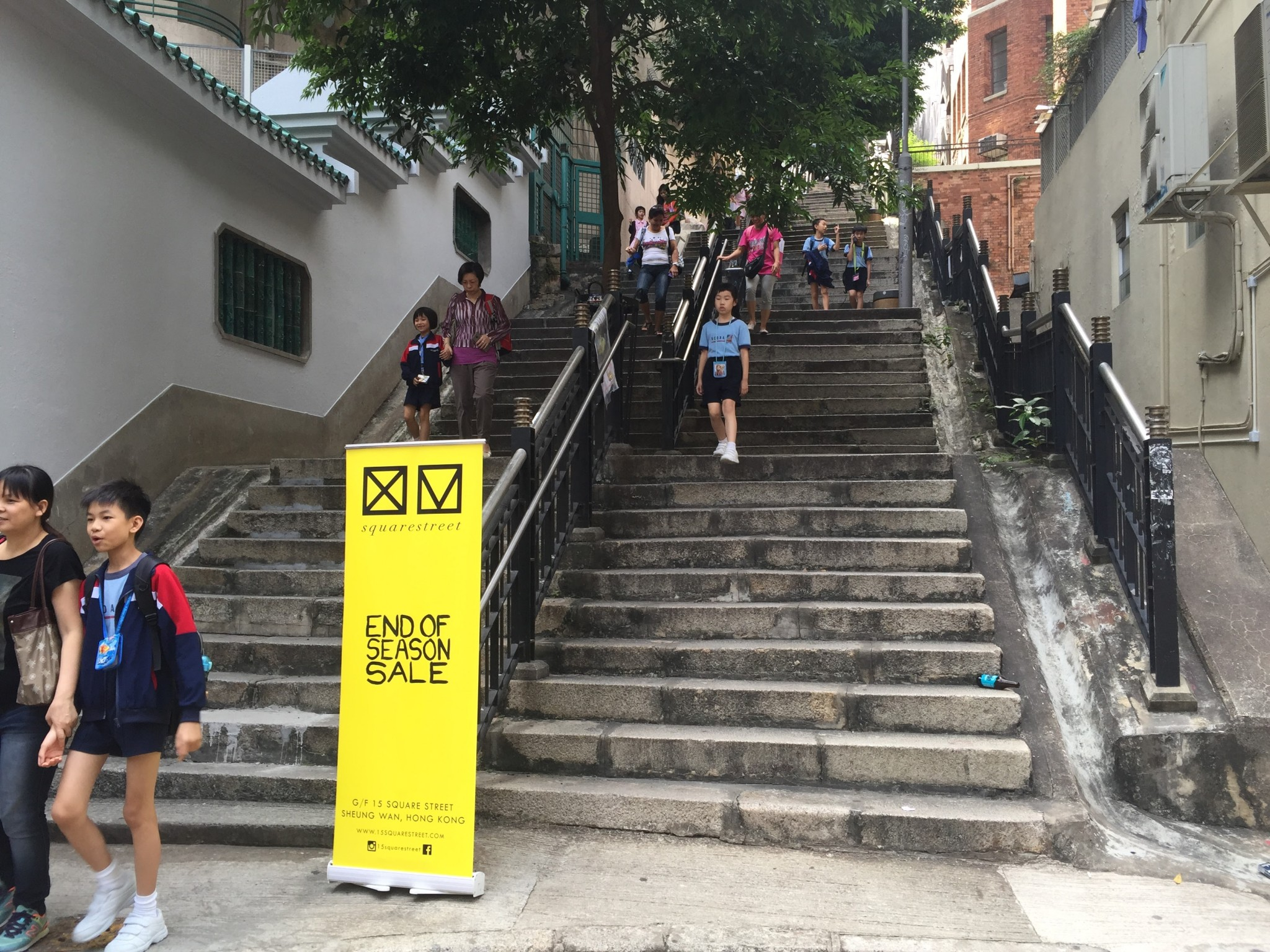 HK Magazine writes about Hong Kong's stairs